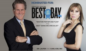 Dr. Laufer and Carla del Rio Nominated for CL's Best of the Bay