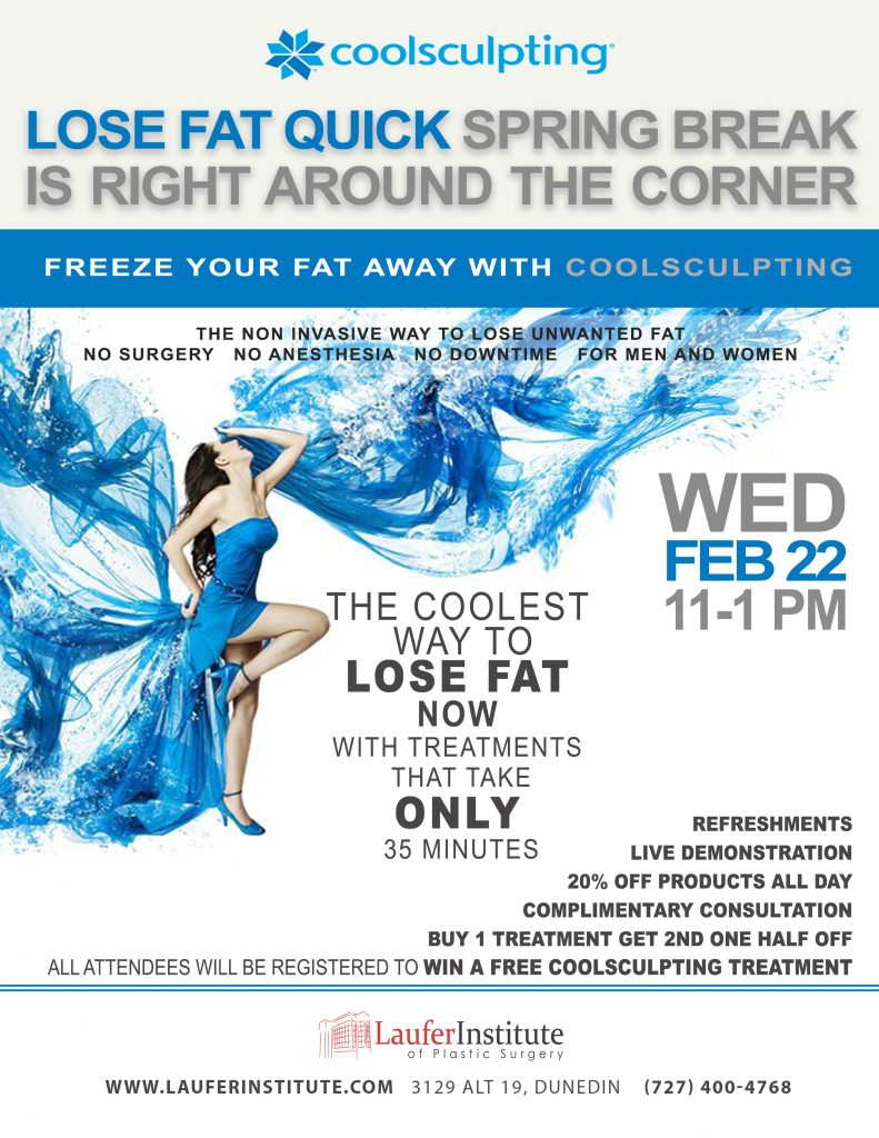 Coolsculpting Springbreak